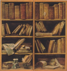 Giuseppe_Maria_Crespi_-_Buchregal_mit_Musikschriften_1725-30
